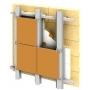 Подсистема для вентилируемых фасадов   Курск