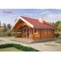 Деревянные дома из клееного бруса площадью 33 кв.м Евлашевский ДОК  Самара