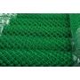 Сетка плетеная (рабица) из проволоки, покрытой ПВХ,  d=2,5 мм, рулоны (1,5 м х 10 м) Оренбург