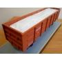 Вагонные вкладыши контейнеры полипропиленовые  размерами 13х2х3 Махачкала