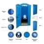 Туалетная кабина Стандарт производства Группы компаний ЭкоПром  Самара