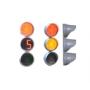 Светофор транспортный светодиодный с круглыми секциями  Т 1.II Нальчик