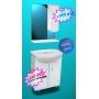 КОМАДО мебель для ванных комнат от производителя KOMADO 102.1.50 (Диана) ширина 50 см с раковиной Москва