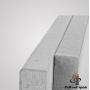 Поребрик тротуарный, бордюр Braer БР100.20.8, серый, тестовый Белгород