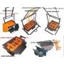 Оборудование для производства керамзитоблоков и полублоков   Саратов