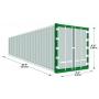 Продажа морских и железнодорожных контейнеров 40 футов (тонн)   Самара