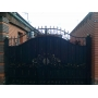 Кованные ворота   Омск